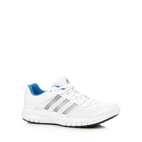 adidas - White +Duramo 6+ running trainers