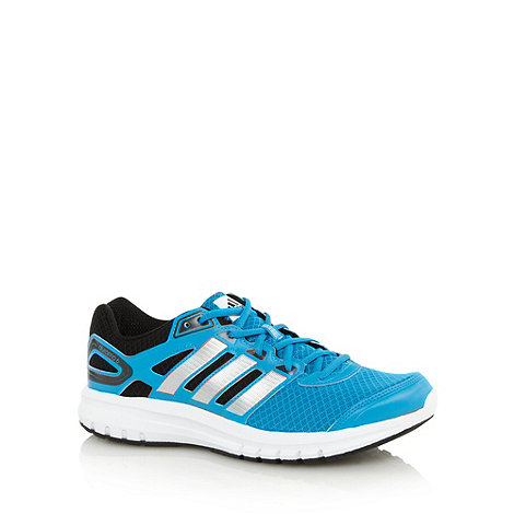 adidas - Blue +Duramo 6+ reflective running trainers