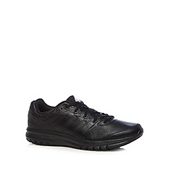 adidas - Black 'Duramo 6' leather trainers