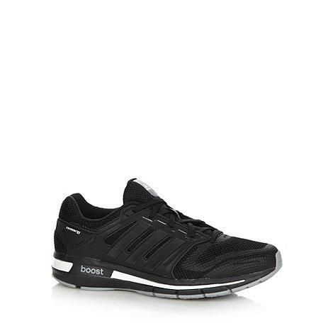 adidas - Black +Revenge+ mesh running trainers