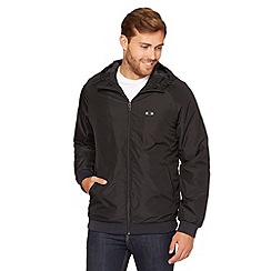 Oakley - Black faux fur lined jacket
