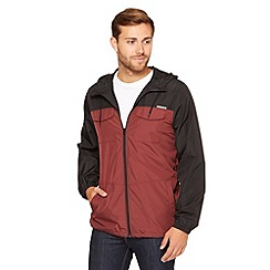 Oakley - Dark red colour block lightweight jacket