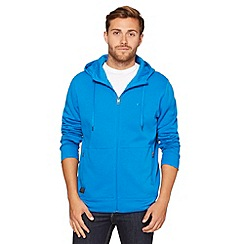 Oakley - Blue zip through hoodie