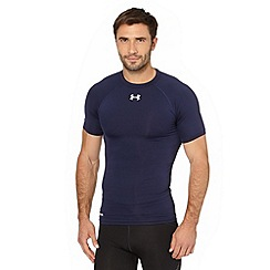 Under Armour - Navy compression fit gym t-shirt