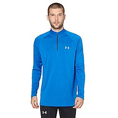 Under Armour - Blue quarter zip top