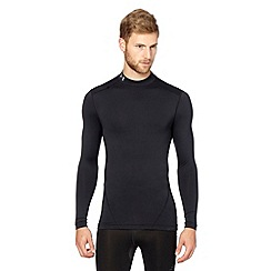Under Armour - Black long sleeved 'Cold Gear' compression top
