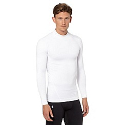 Under Armour - White long sleeved 'Cold Gear' compression top