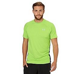 Under Armour - Green 'Heat Gear' fitted running t-shirt