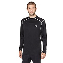 Under Armour - Black perforated long sleeve top