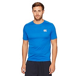 Canterbury - Blue spotted rugby t-shirt