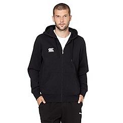 Canterbury - Black zip through hoodie