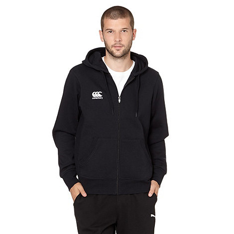 Canterbury - Black zip through hoodie