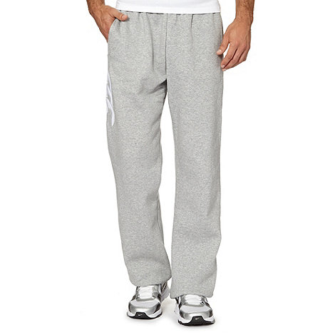 Canterbury - Grey logo cuffed jogging bottoms