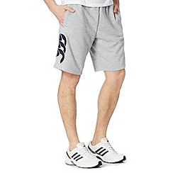 Canterbury - Grey logo sweat shorts