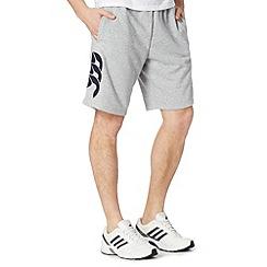 Canterbury - Grey logo sweat shorts