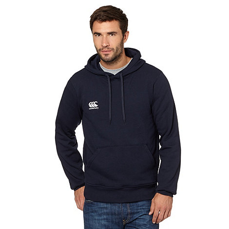 Canterbury - Navy small logo hoodie