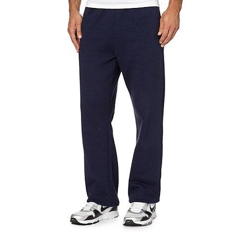 Canterbury - Grey logo cuffed jogging bottoms