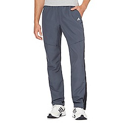 adidas - Dark blue 'ClimaCool' gym trousers