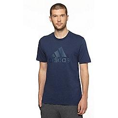 adidas - Navy logo t-shirt
