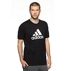 adidas - Black logo t-shirt
