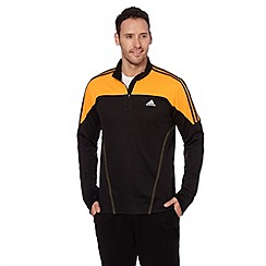 adidas - Black 'Response' fleece lined running top