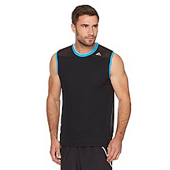 adidas - Black mesh shoulder vest