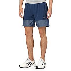 adidas - Navy woven shorts