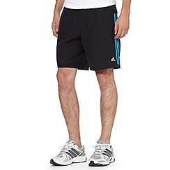 adidas - Black 'ClimaCool' training shorts