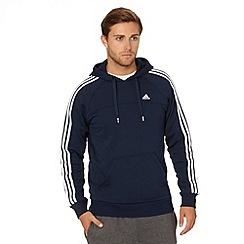 adidas - Navy zip through hoodie