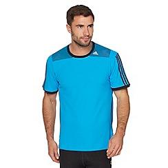 adidas - Blue mesh 'Clima' t-shirt
