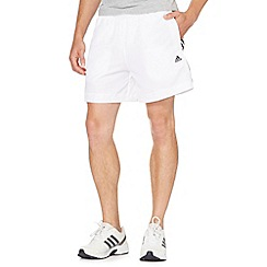 adidas - White gym shorts