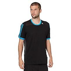 adidas - Black mesh 'Clima' t-shirt