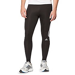 adidas - Black 'Response' long tight training pants