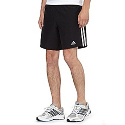 adidas - Black 'Response' fitness shorts