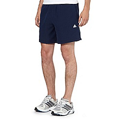 adidas - Navy essential fitness shorts