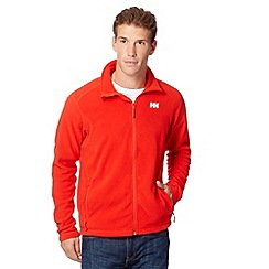 Helly Hansen - Dark orange zip through fleece