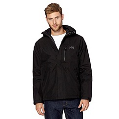 Helly Hansen - Black insulated waterproof jacket