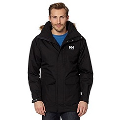 Helly Hansen - Black zip through parka jacket