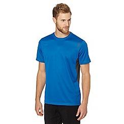 Canterbury - Blue logo print t-shirt