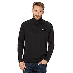 Berghaus - Black zip neck base layer top