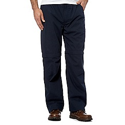 Berghaus - Dark blue navigator zip off trousers