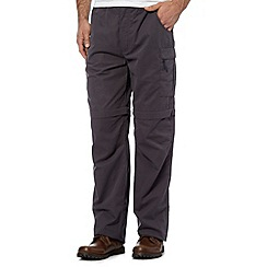 Berghaus - Dark grey navigator zip off trousers