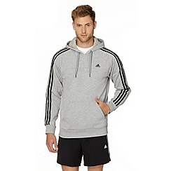 adidas - Grey pull over hoodie