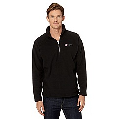 Berghaus - Black logo embroidered fleece