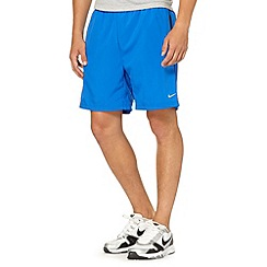 Nike - Bright blue 'Challenger' running shorts