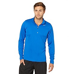 Nike - Bright blue 'Racer' running top