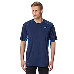 Nike - Navy 'Legacy' gym t-shirt