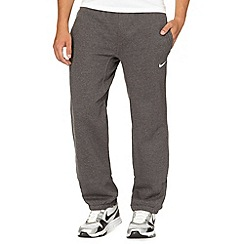 Nike - Dark grey 'Club' cuffed jogging bottoms