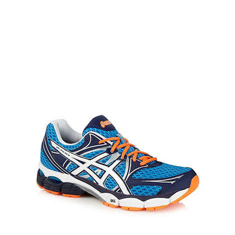 ASICS - Blue +Gel Pulse 6+ running trainers