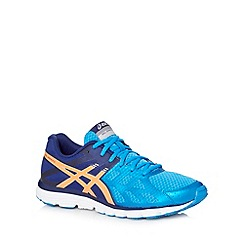 ASICS - Blue 'Gel Zaraca 3' running trainers